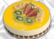 pasta gönderme 4 ile 6 kisilik yas pasta muzlu yaspasta  Ankara Anadolu çiçek mağazası , çiçekçi adresleri