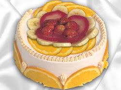 leziz pastane 4 ile 6 kisilik yas pasta meyvali yaspasta  Ankara Anadolu kaliteli taze ve ucuz çiçekler