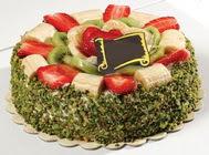 pasta gönder  4 ile 6 kisilik karisik meyvali yas pasta  Ankara Anadolu internetten çiçek siparişi