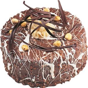pasta satisi 4 ile 6 kisilik çikolatali yas pasta  Ankara Anadolu Anadolu İnternetten çiçek siparişi
