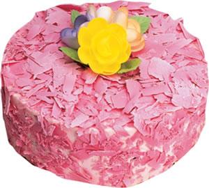 pasta siparisi 4 ile 6 kisilik framboazli yas pasta  Ankara Anadolu çiçek yolla