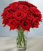 Ankara Anadolu çiçek siparişi sitesi  Sevdiklerinize özel ürün 12 adet cam içerisinde kirmizi gül  Ankara Anadolu hediye çiçek yolla