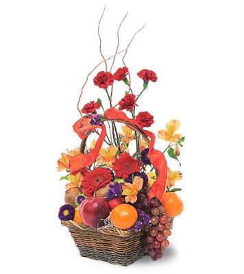 Özel Meyva sepeti ve çiçekler sevdiklerinizi simartin  Ankara Anadolu internetten çiçek siparişi