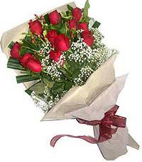 11 adet kirmizi güllerden özel buket  Ankara Anadolu internetten çiçek siparişi