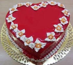 kalp biçiminde yas pasta özel kisilere  Ankara Anadolu cicekciler , cicek siparisi