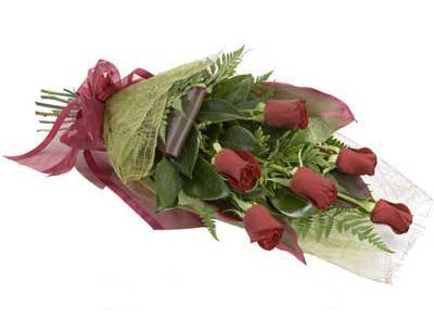 ucuz çiçek siparisi 6 adet kirmizi gül buket  Ankara Anadolu çiçek siparişi sitesi
