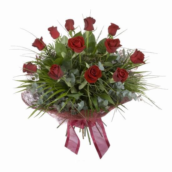 Etkileyici buket 11 adet kirmizi gül buketi  Ankara Anadolu internetten çiçek satışı