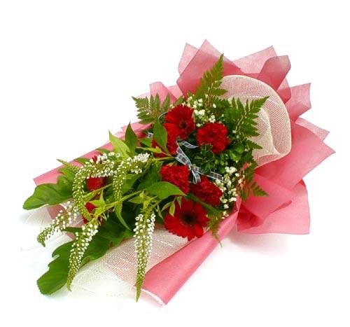 Karisik çiçek buketi mevsim buket  Ankara Anadolu çiçek siparişi sitesi