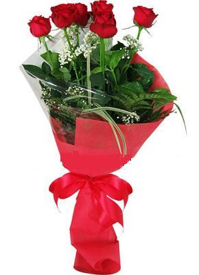 7 adet kirmizi gül buketi  Ankara Anadolu çiçek yolla , çiçek gönder , çiçekçi
