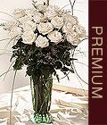 Ankara Anadolu kaliteli taze ve ucuz çiçekler  Beyaz güllerden vazo tanzim