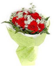 Ankara Anadolu çiçek , çiçekçi , çiçekçilik  7 adet kirmizi gül buketi tanzimi