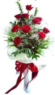Ankara Anadolu ucuz çiçek gönder  10 adet kirmizi gül buketi demeti