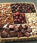 Ankara Anadolu güvenli kaliteli hızlı çiçek Kuru yemis ve çikolata hediyesi