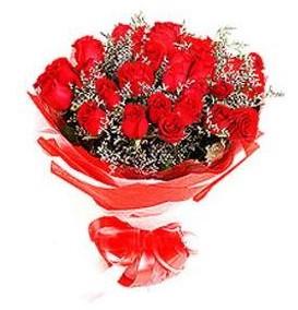 Ankara Anadolu çiçek mağazası , çiçekçi adresleri  12 adet kırmızı güllerden görsel buket