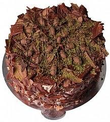 4 ile 6 kişilik çikolatalı Drajeli yaş pasta