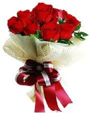 Görsel 12 adet kırmızı gül buketi  Ankara Anadolu online çiçek gönderme sipariş