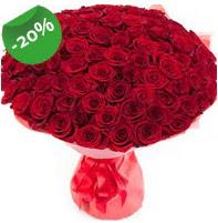 Özel mi Özel buket 101 adet kırmızı gül  Ankara Anadolu anneler günü çiçek yolla