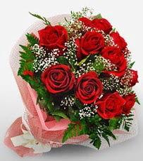 12 adet kırmızı güllerden kaliteli gül  Ankara Anadolu çiçek siparişi vermek