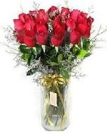 27 adet vazo içerisinde kırmızı gül  Ankara Anadolu Anadolu İnternetten çiçek siparişi