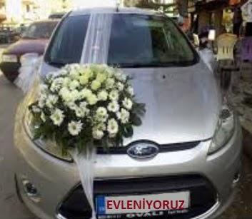Ankara Anadolu ucuz çiçek gönder  Gelin arabası süslemesi