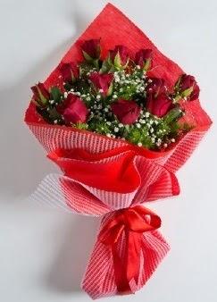 11 adet kırmızı gülden buket  Ankara Anadolu online çiçek gönderme sipariş