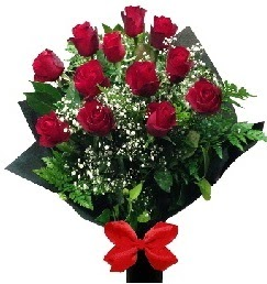 11 adet kırmızı gülden buket  Ankara Anadolu çiçekçi telefonları
