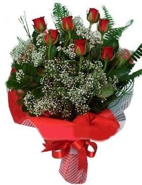 7 kırmızı gül buketi  Ankara Anadolu çiçek servisi , çiçekçi adresleri