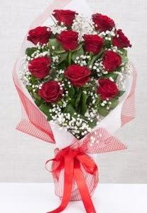 11 kırmızı gülden buket çiçeği  Ankara Anadolu 14 şubat sevgililer günü çiçek
