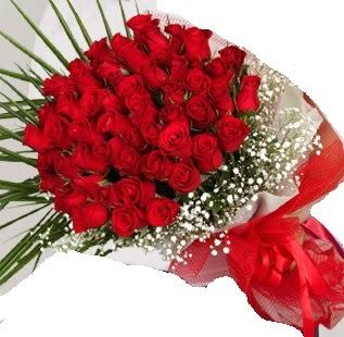 51 adet kırmızı gül buketi  Ankara Anadolu çiçek gönderme sitemiz güvenlidir