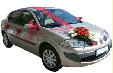 Çiçekli gelin arabası süsü  Ankara Anadolu Anadolu İnternetten çiçek siparişi