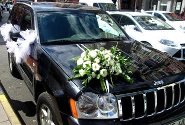 Ankara düğün arabası süslemesi  Ankara Anadolu internetten çiçek siparişi