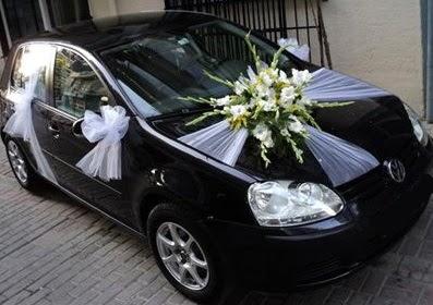 Ankara düğün gelin arabası süslemesi  Ankara Anadolu çiçek mağazası , çiçekçi adresleri