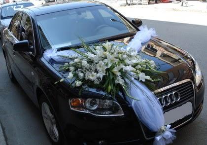 Ankara araba süslemesi gelin arabası  Ankara Anadolu ucuz çiçek gönder