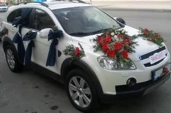 araba süsleme  Ankara Anadolu anneler günü çiçek yolla