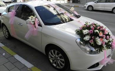 Düğün arabası süslemesi  Ankara Anadolu 14 şubat sevgililer günü çiçek