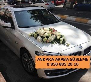 Ankara düğün araba süsleme  Ankara Anadolu cicekciler , cicek siparisi