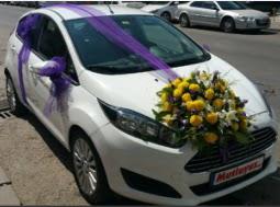 Ankara araba süslemesi  Ankara Anadolu yurtiçi ve yurtdışı çiçek siparişi