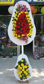 Düğün nikah açılış Çiçeği Çift katlı sepet  Ankara Anadolu internetten çiçek satışı