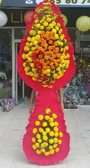 Çift katlı düğün nikah açılış çiçeği  Ankara Anadolu çiçek mağazası , çiçekçi adresleri