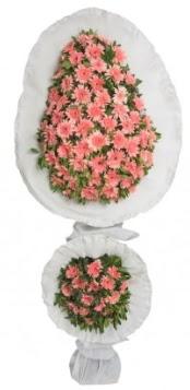 Çift katlı düğün açılış nikah çiçeği modeli  Ankara Anadolu çiçek gönderme