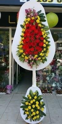 Çift katlı düğün çiçekleri  Ankara Anadolu çiçek siparişi sitesi