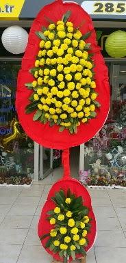 Çift katlı düğün nikah açılış çiçeği  Ankara Anadolu internetten çiçek siparişi
