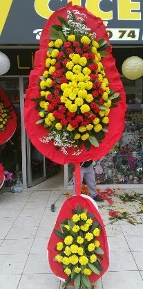Çift katlı düğün nikah açılış çiçeği  Ankara Anadolu anneler günü çiçek yolla