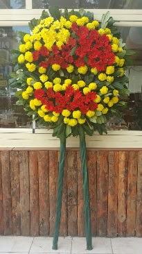 Cenaze çelengi çiçek modeli  Ankara Anadolu çiçek mağazası , çiçekçi adresleri