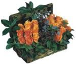 Ankara Anadolu internetten çiçek siparişi  Oranj kaliteli bir gül sandigi
