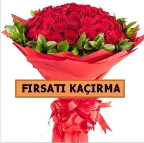 SON 1 GÜN İTHAL BÜYÜKBAŞ GÜL 51 ADET  Ankara Anadolu internetten çiçek satışı