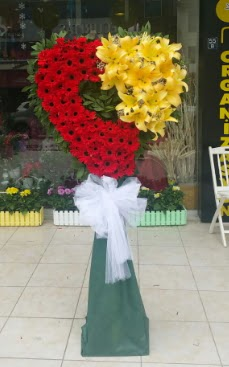Yasin model ferförje kalp çiçek modeli  Ankara Anadolu çiçek yolla