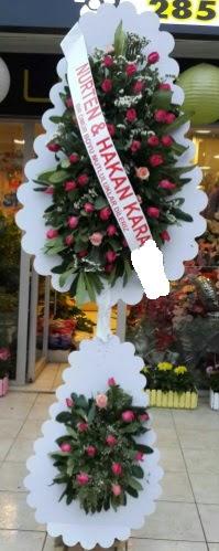 Güllü düğün nikah açılış çiçek modeli  Ankara Anadolu çiçek satışı