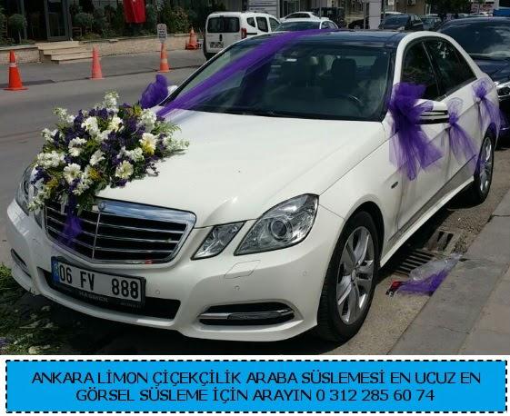Ankara gelin arabası süslemesi  Ankara Anadolu çiçek gönderme sitemiz güvenlidir