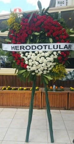Cenaze çelengi cenazeye çiçek modeli  Ankara Anadolu çiçek satışı